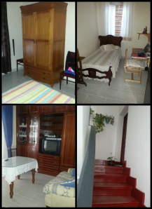 Bedrooms, lounge and last flight of stairs!