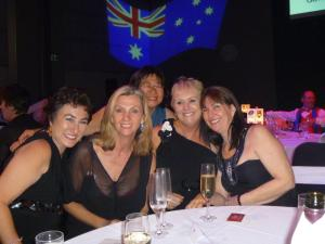 Australia Day Ball 2012 with special friends