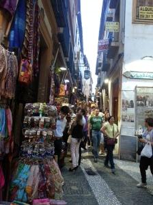 Street in the Albaycin