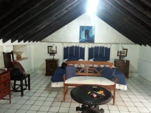 My attic room