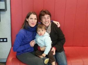 Anne, Hugo and myself